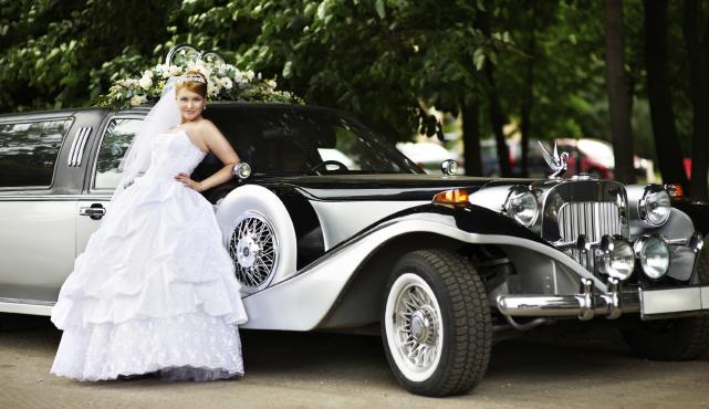 moderne Hochzeitskutsche